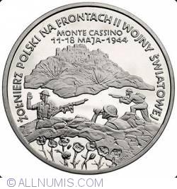 Imaginea #1 a 200000 zlotych 1994 - Battle of Monte Cassino