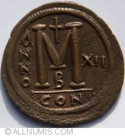 Image #2 of Follis (40 Nummi) - XII
