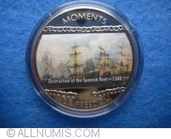 10 Dollars 2004 - Destruction of the Spanish Fleet