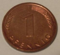 Image #1 of 1 Pfennig 1993 F