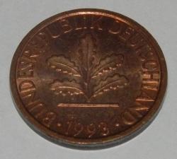 Image #2 of 1 Pfennig 1993 F