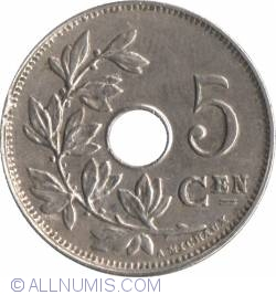 Image #2 of 5 Centimes 1914 Dutch