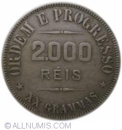 Imaginea #2 a 2000 Réis 1912