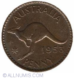 Image #2 of 1 Penny 1953 M
