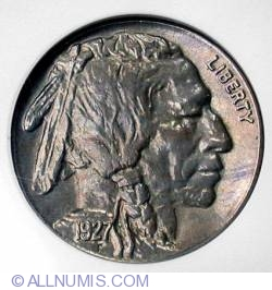 Image #1 of Buffalo Nickel 1927 S