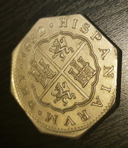 Image #1 of 8 Reales 1682 REPLICA