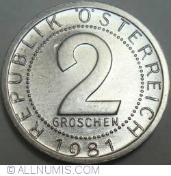 Image #1 of 2 Groschen 1981