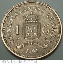 Image #1 of 1 Gulden 2004