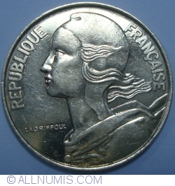 Image #2 of 20 Centimes 1989