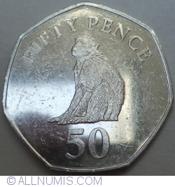 Image #1 of 50 Pence 2015