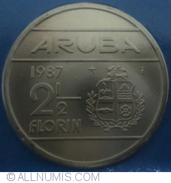 Image #1 of 2 1/2 Florin 1987
