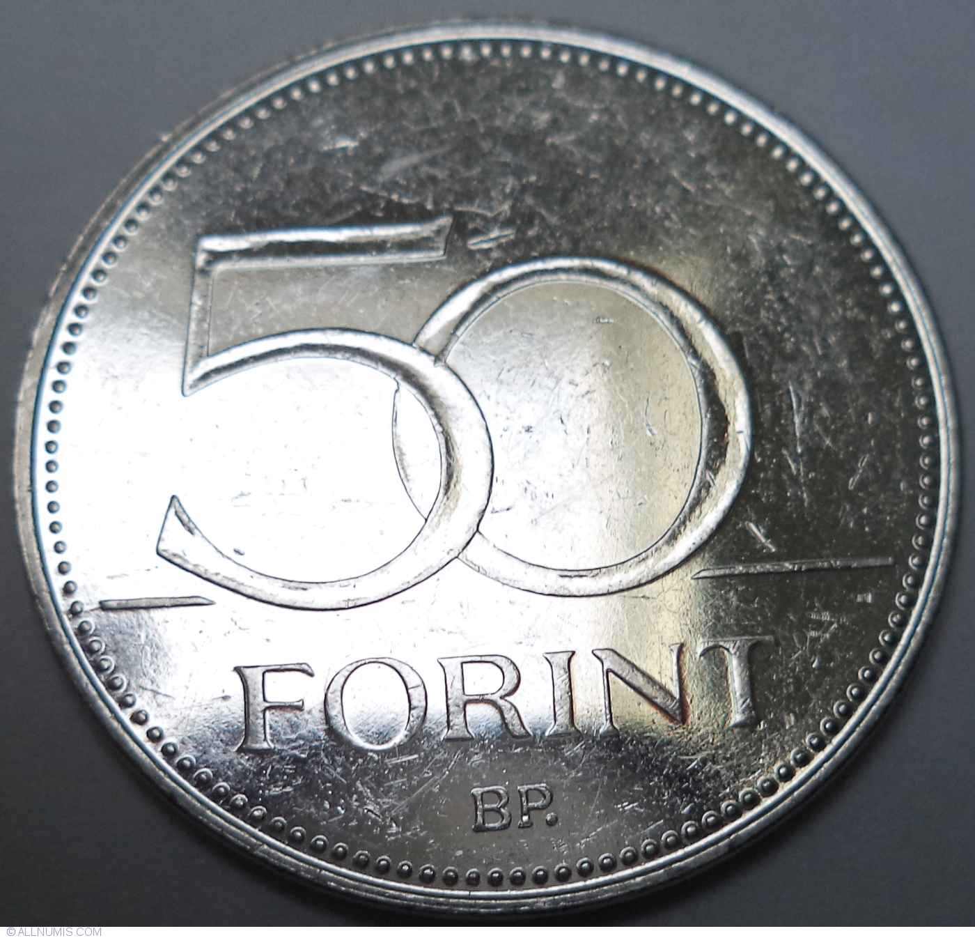Hungary 50 forint 2017 FINA Water World Championship UNC Commemorative from Roll