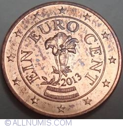 1 Euro Cent 2013