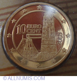 Image #2 of 10 Euro Cent 2003