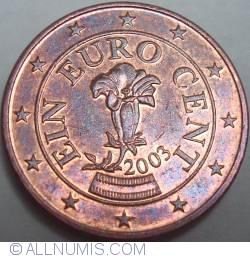 Imaginea #2 a 1 Euro Cent 2003
