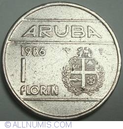 Image #1 of 1 Florin 1986