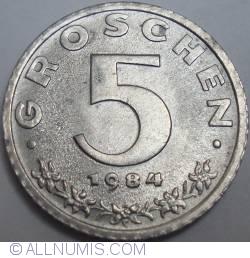 Image #1 of 5 Groschen 1984