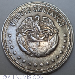 Image #1 of 20 Centavos 1963