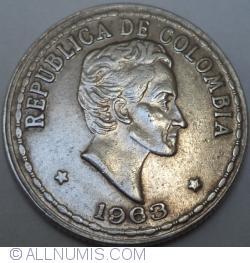 Image #2 of 20 Centavos 1963