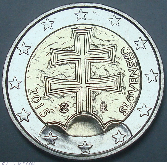 2 euro 2015 euro 2009 2 euro slovakia coin 36860. Black Bedroom Furniture Sets. Home Design Ideas