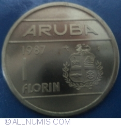 Image #1 of 1 Florin 1987