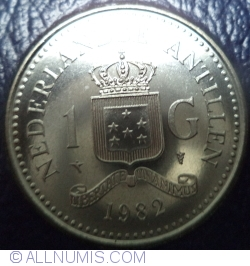Image #1 of 1 Gulden 1982