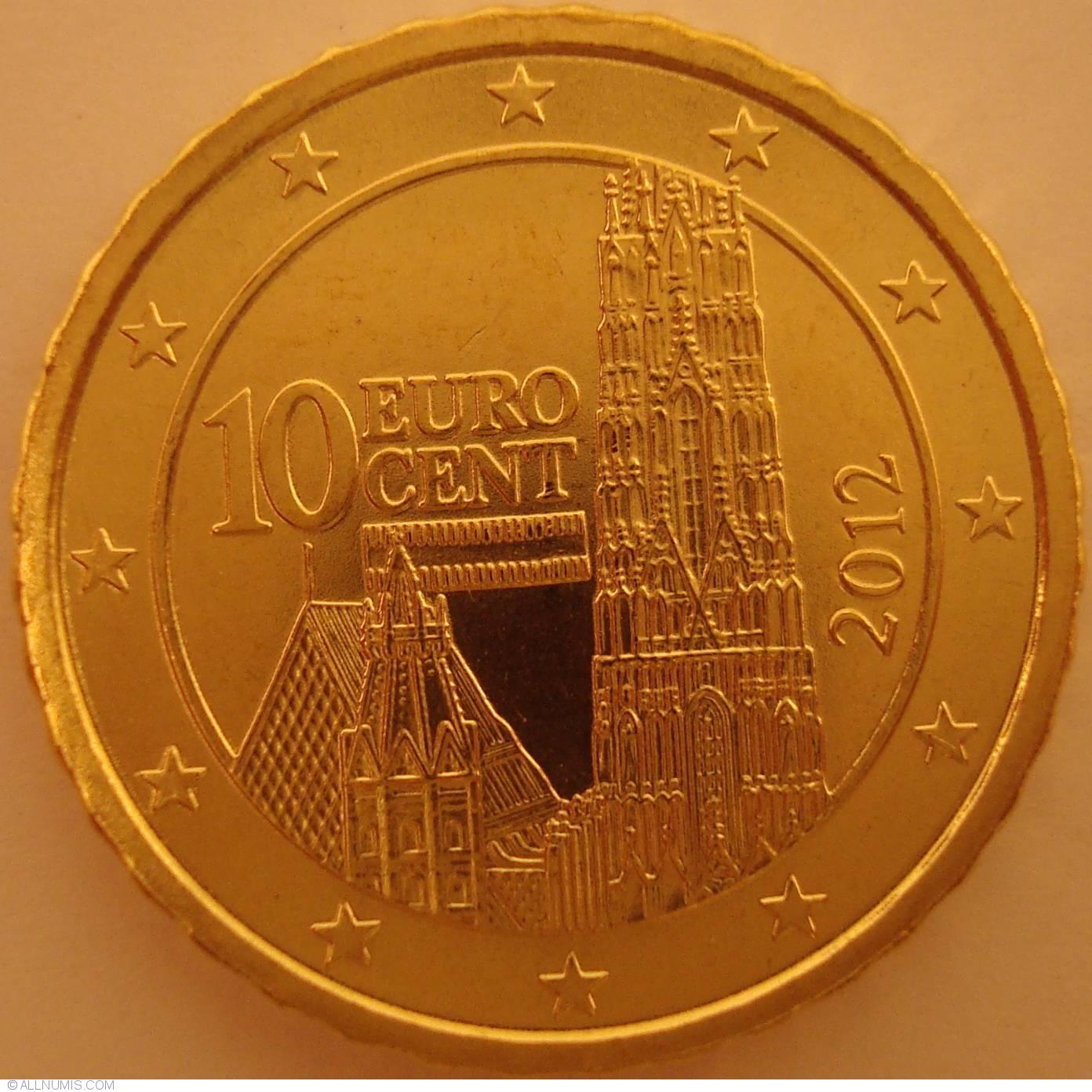 10 euro cent 2012 euro 2010 2019 austria coin 26832. Black Bedroom Furniture Sets. Home Design Ideas