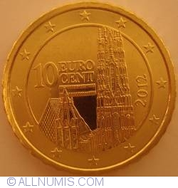 Image #2 of 10 Euro Cent 2012