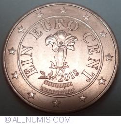 1 Euro Cent 2018