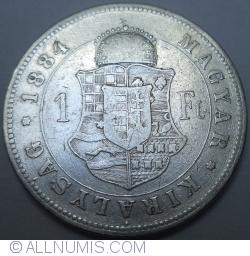 1 Forint 1884