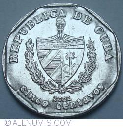 Imaginea #2 a 5 Centavos 2002