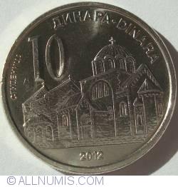 Imaginea #1 a 10 Dinari 2012