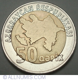 Image #2 of 50 Qapik 2006 (ND)