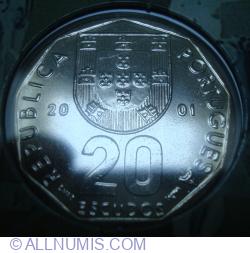 Imaginea #1 a 20 Escudos 2001