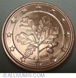 1 Euro Cent 2018 J