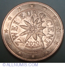 Image #2 of 2 Euro Cent 2020