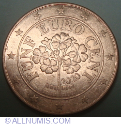 Image #2 of 5 Euro Cent 2020