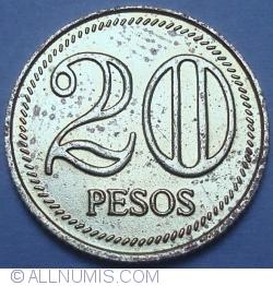 Image #1 of 20 Pesos 2005