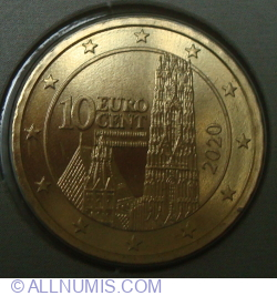 Image #2 of 10 Euro Cent 2020