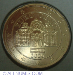Image #2 of 20 Euro Cent 2020