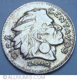 Image #1 of 10 Centavos 1954 B