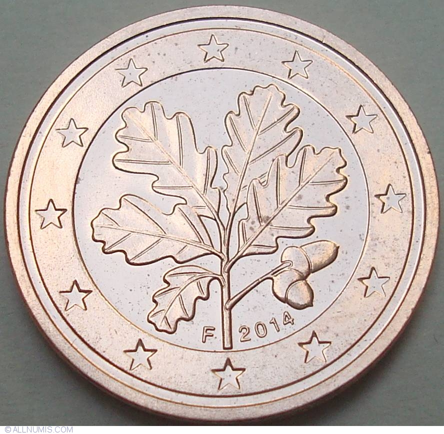 2 euro cent 2014 f euro 2002 present germany coin. Black Bedroom Furniture Sets. Home Design Ideas