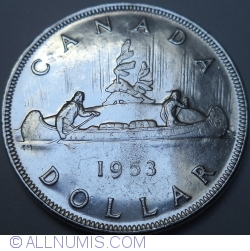 Image #1 of 1 Dollar 1953