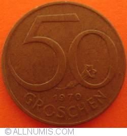 Image #1 of 50 Groschen 1970