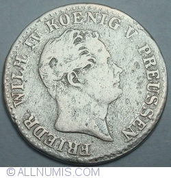 Image #2 of 2½ Silber groschen 1843 A