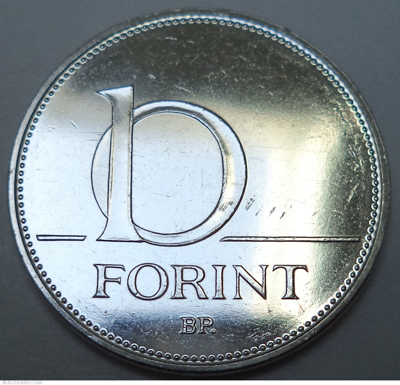2018 UNC hungarian 50 forint lot set of 50 pcs coin from roll