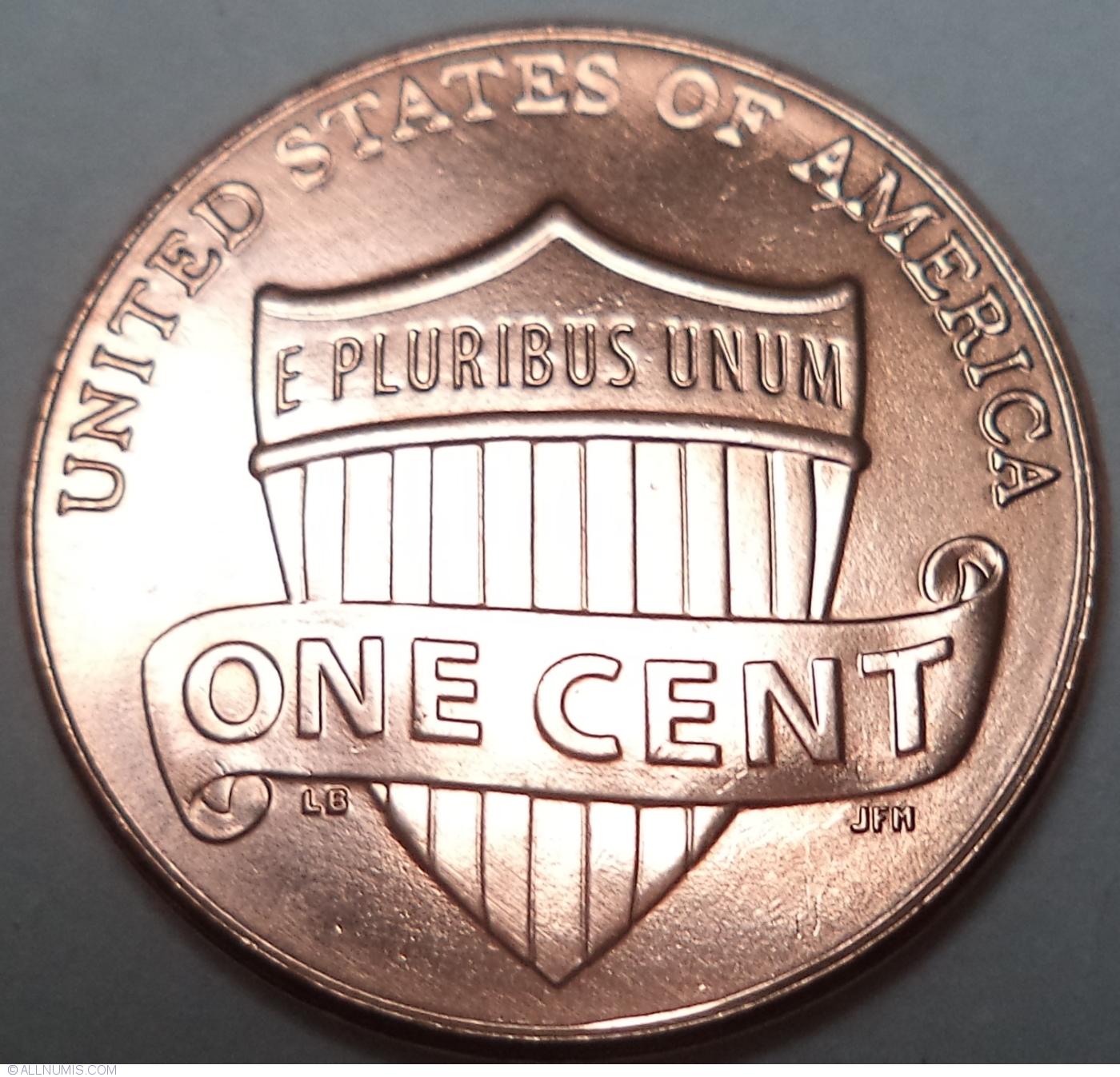 1 Cent 2017 P, Cent, Lincoln Union Shield (2010-present
