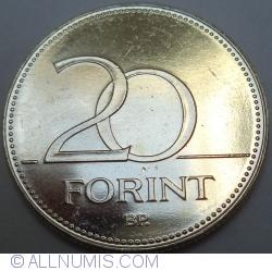 Imaginea #1 a 20 Forint 2017