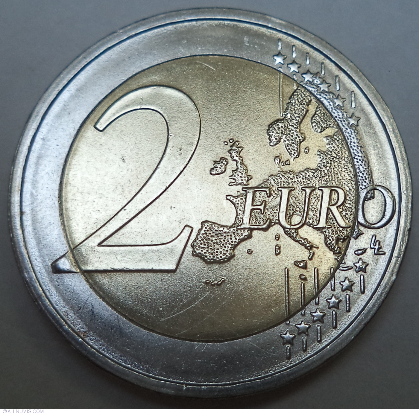 All 5 Mints 2016 Germany Complete 5x2 Euro UNC Coin Saxony Dresden Zwinger