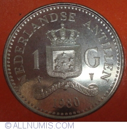 Image #1 of 1 Gulden 1980